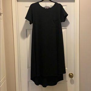 Black lularoe Carly dress